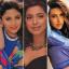 Kajol, Madhuri Dixit Nene, Juhi Chawla, Karisma Kapoor and Raveena Tandon were leading Bollywood actresses in the 90s. Photos: @kajol; @madhuridixitnene; @iamjuhichawla; @therealkarismakapoor; @officialraveenatandon/Instagram