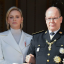 Princess Charlene of Monaco and Prince Albert II of Monaco, and the princess with a new hairstyle. Photos: Getty Images