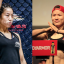 Meng Bo (left) is the only woman to have beaten Zhang Weili (right). Photo: ONE Championship/Amy Kaplan