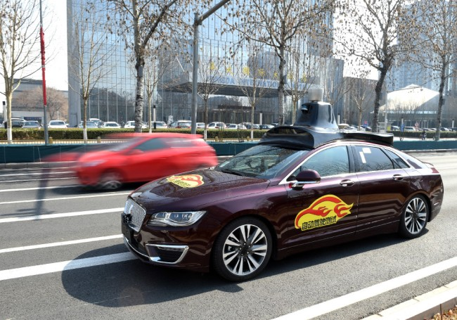 Baidu gets first commercial license for self-driving cars in China