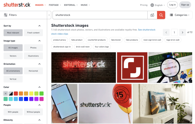 Shutterstock censors sensitive search terms for China