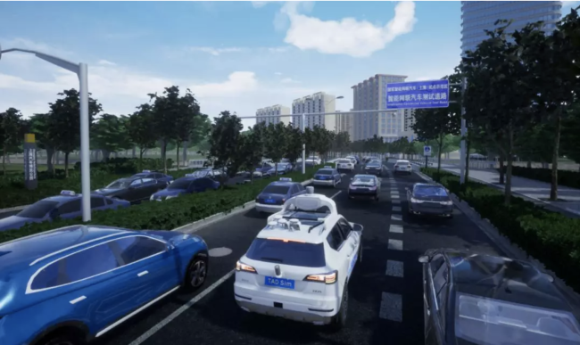 Virtual reality teaches Tencent's self-driving cars