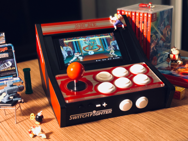 This dock promises to turn your Switch into an arcade cabinet