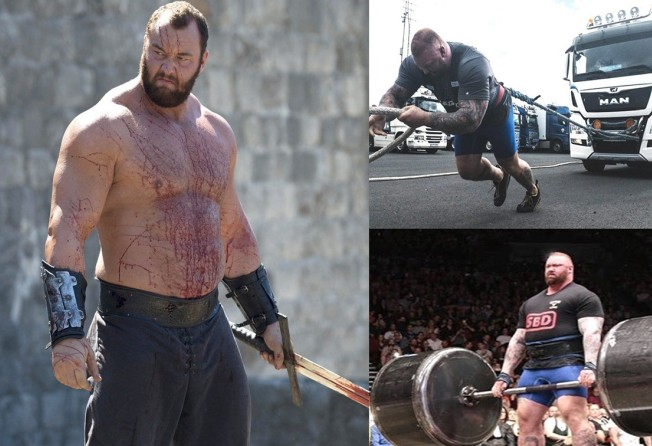 Game of Thrones: 'The Mountain' Bjornsson is officially the