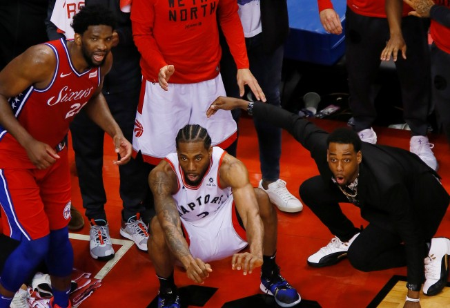 best service 83792 4a487 2019 NBA Playoffs  where does Kawhi Leonard s epic buzzer-beater rank on  all-time list    South China Morning Post