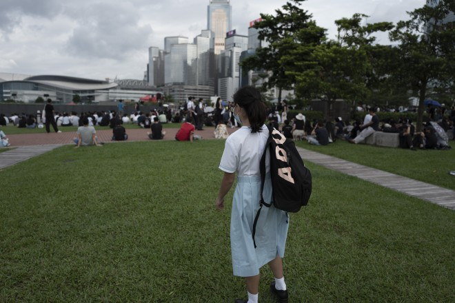 Why some Hong Kong students choose streets over school