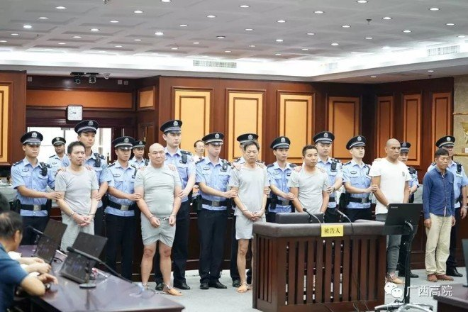 Six Chinese men jailed for a hit job that was subcontracted five times