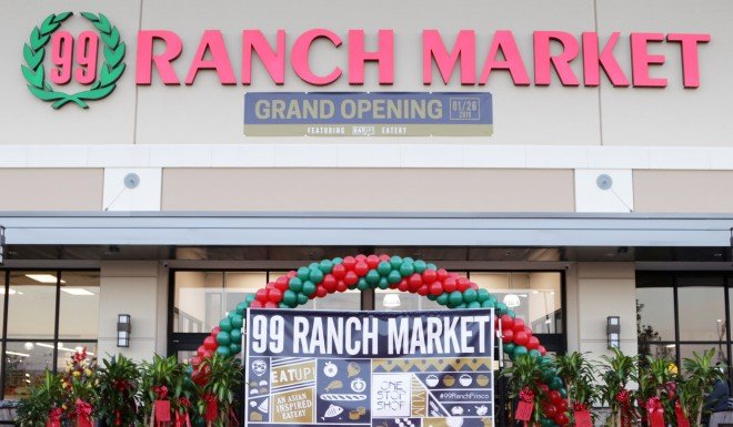 A new 99 Ranch Market opening in Frisco, Texas.