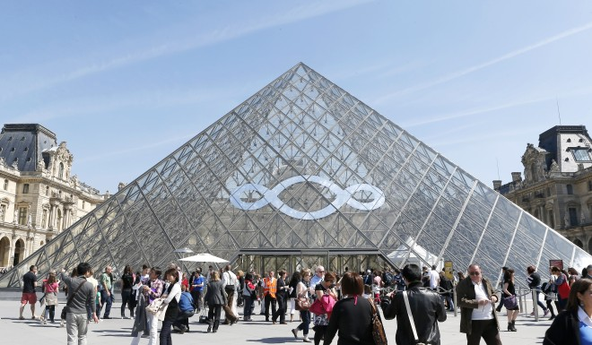 Pei's decision to place a modern metal-framed glass pyramid at the center of the classical Napoleon courtyard drew controversy. But it has since become a symbol of Paris.