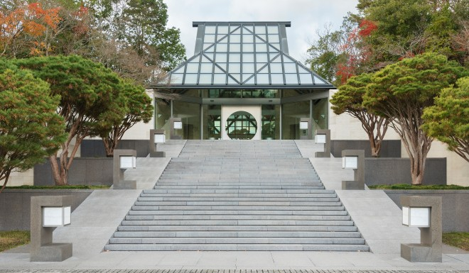 The Miho Museum in Kyoto, Japan, opened in 1997. It is one of the most loved designs by Pei's admirers in Asia.