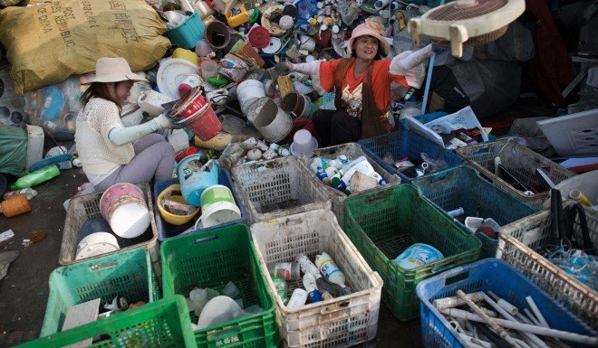 China's war on garbage heats up at home