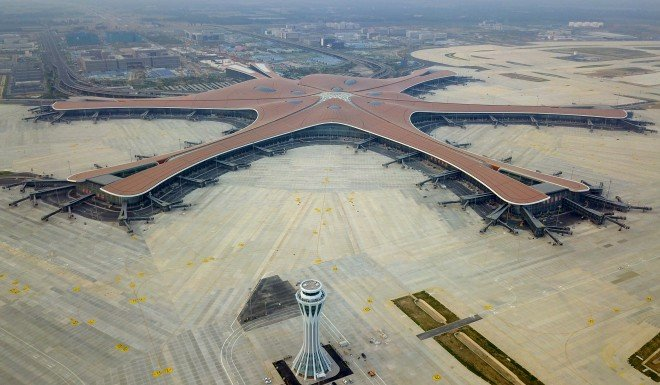 Beijing's new Zaha Hadid-designed airport is almost ready