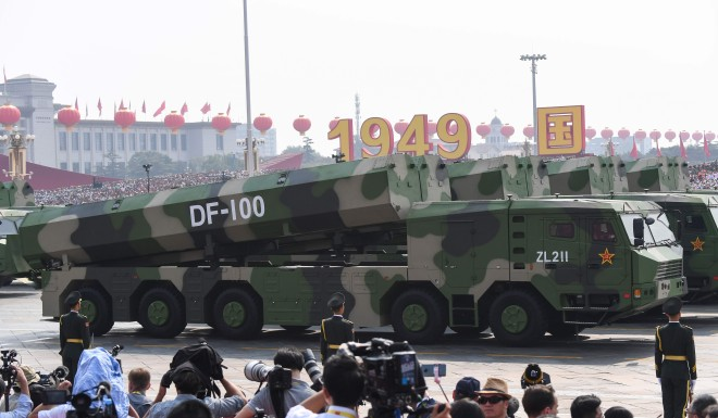 China's show of military might risks backfiring