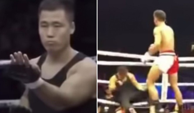 Wing chun practitioner gets knocked out in 72 seconds by MMA fighter