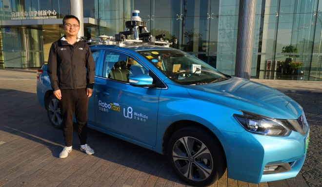I took a self-driving robotaxi in China