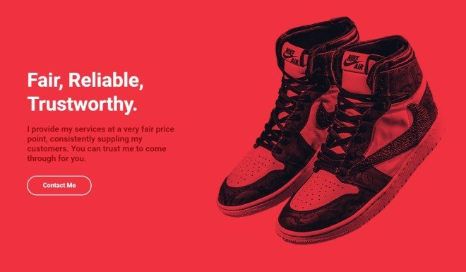 reselling shoes