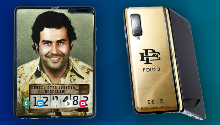The curious case of cheap foldable phones from Pablo Escobar's brother