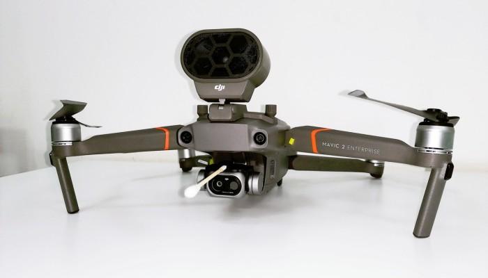 DJI improves temperature-measuring drones with a simple cotton swab