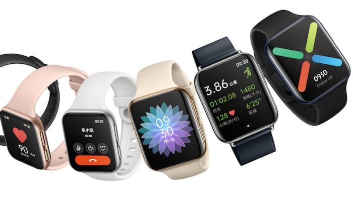 Oppo's first smartwatch looks like an Apple Watch but it's cheaper