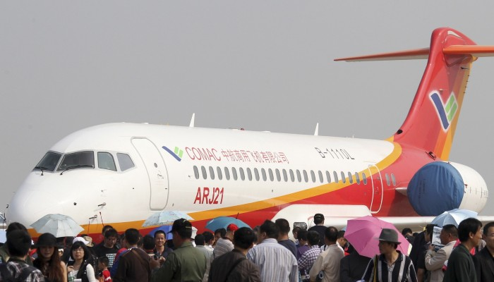 China's aircraft maker takes a baby step abroad with Africa's order
