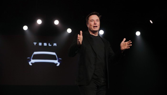 e61d124945c3a No cabby needed  Elon Musk says Tesla robotaxis will hit US roads next  year