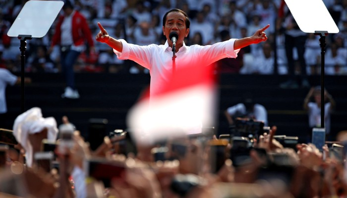 Jokowi wins second term, with final tally released early amid unrest fears