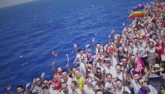 Gay Chinese find a place to be themselves on 'Rainbow Cruise' to Vietnam