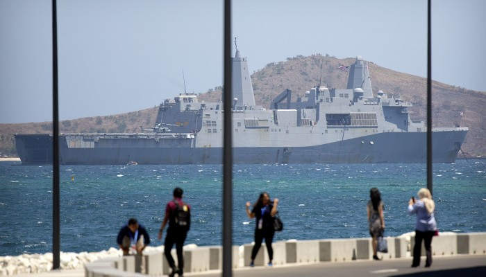 China rejects requests for US warships to visit Hong Kong amid protests
