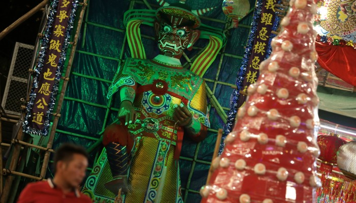 Hungry Ghost Festival in Hong Kong