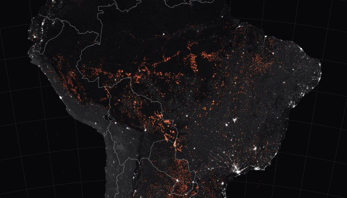 In Pictures: The devastating Amazon rainforest fires