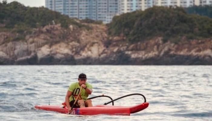 Outriggers paddling 62km around Lantau to celebrate
