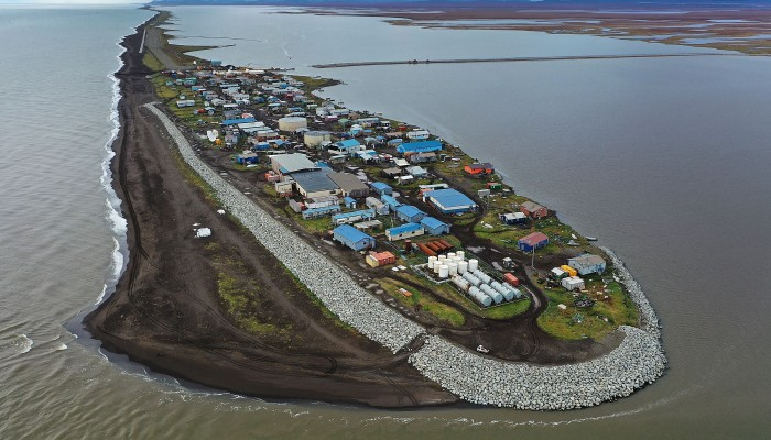 In Pictures: Alaskan villages face the warming of the Arctic