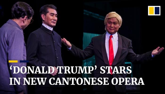 'Donald Trump' stars in new Cantonese opera