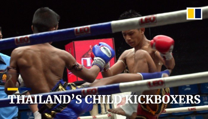Thailand's child kickboxers
