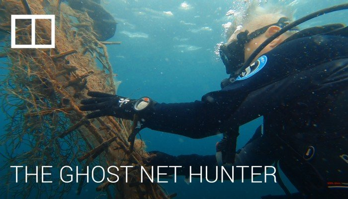Ghost net hunter's quest to rid oceans of deadly killer