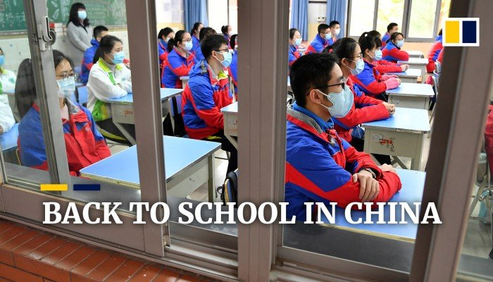 Schools across China reopen as officials say Covid-19 is under control - South China Morning Post
