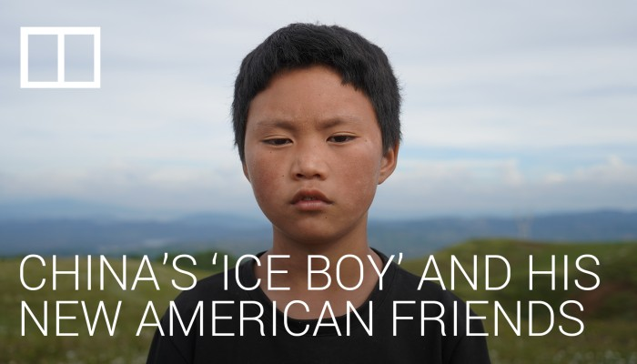 China's 'ice boy' and his new American friends