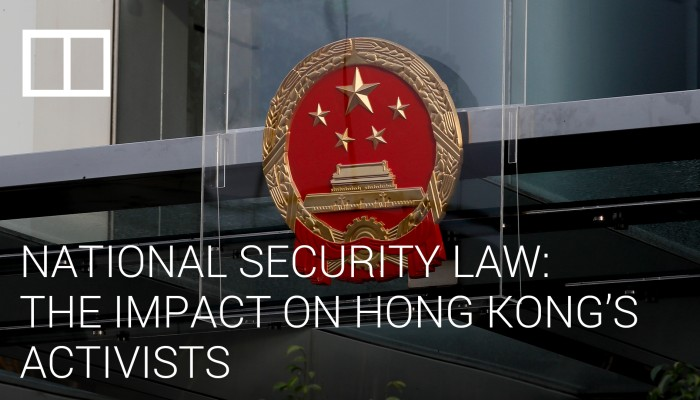 National Security Law: The impact on Hong Kong's activists