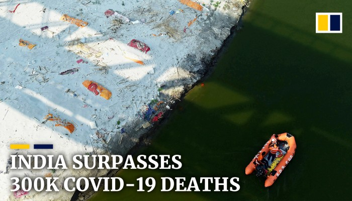 India surpasses 300,000 Covid-19 deaths