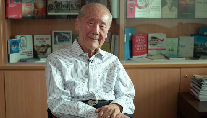 Eminent historian on Hong Kong-China relations