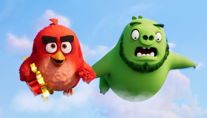"""Angry Birds Movie 7/"""" Plush Leonard"""