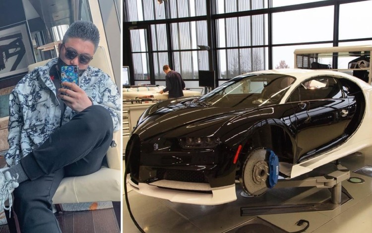 Chinese Tycoon's Son Buys US$3.8 Million Bugatti Chiron In Vancouver With Dad's Union Pay Credit Card, Complains About Canadian Taxes