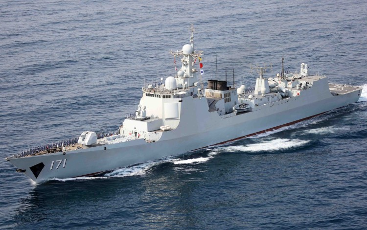 Chinese Navy Vessels On Goodwill Mission To Hong Kong