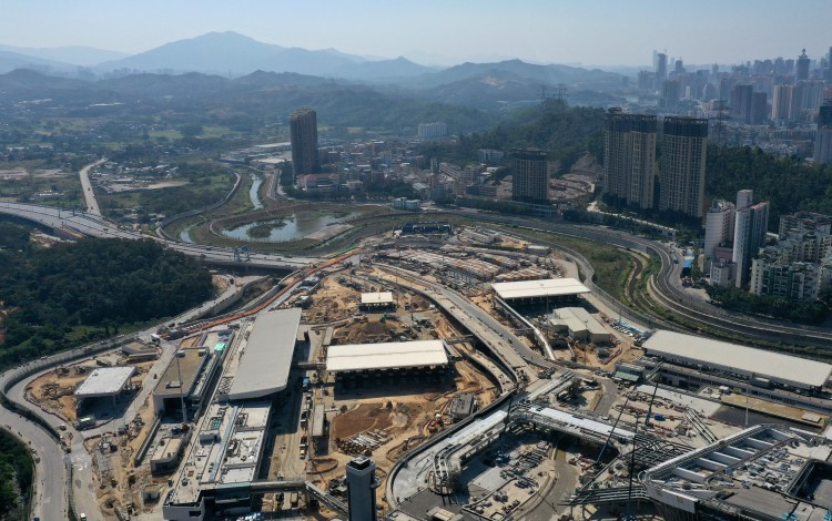 New Road Linking Hong Kong With Mainland China To Open This Month As Work On HK$33.7 Billion Border Crossing Enters Final Stages
