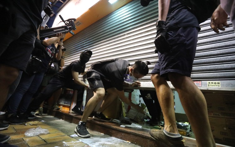 Pharmacies And Cosmetics Shops Targeted As Parallel Trading Protest Takes Ugly Turn In Hong Kong Border Town