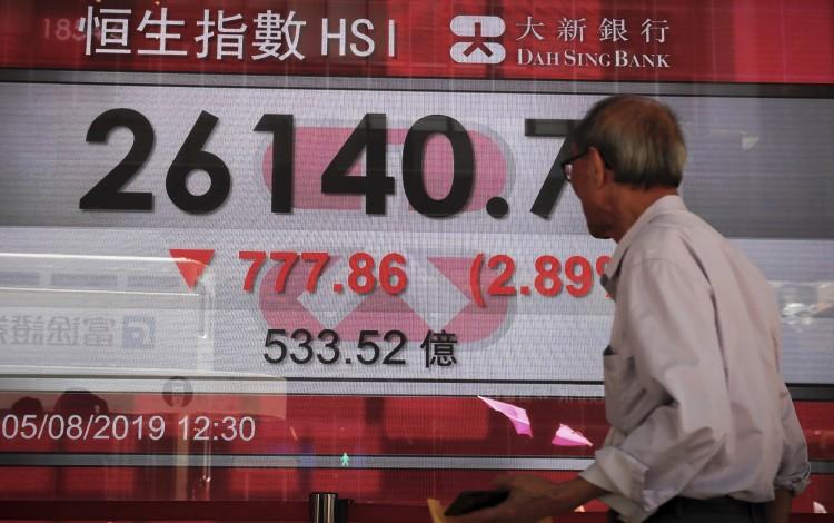 Hong Kong Stocks Hit Longest Losing Streak In Six Weeks As Investors Fear More Protests On The Way