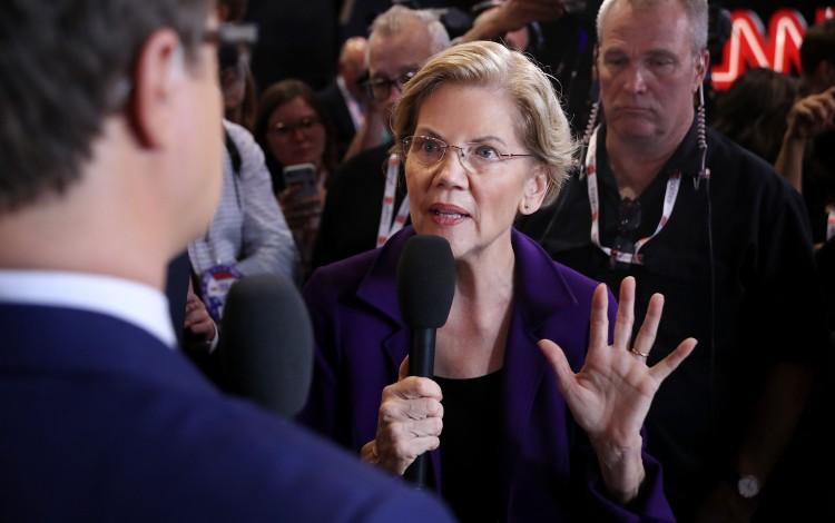 Top US Democratic Candidate Elizabeth Warren Backs Hong Kong Pro-democracy Bill
