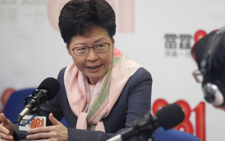 Hong Kong Leader Carrie Lam Says Land Plans Unveiled In Police Address Will Help First-time Buyers, Won't Inflate Prices