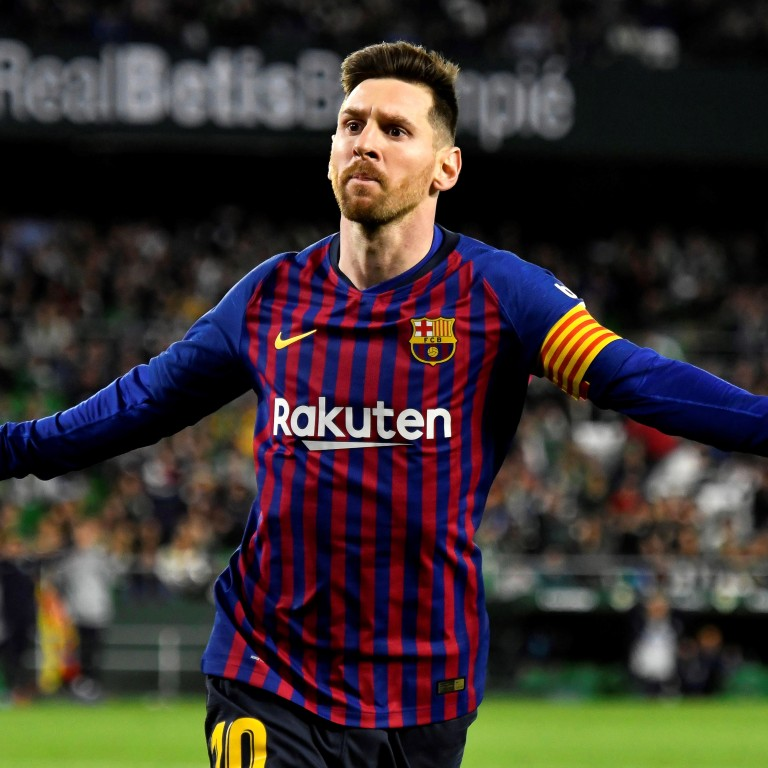 edb11a44287 Barcelona s Lionel Messi scored a hat-trick and was widely praised by rival  fans.