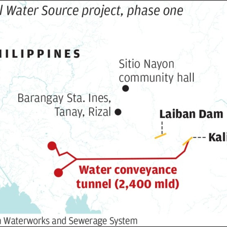 Philippines goes cap in hand to China as water shortage bites